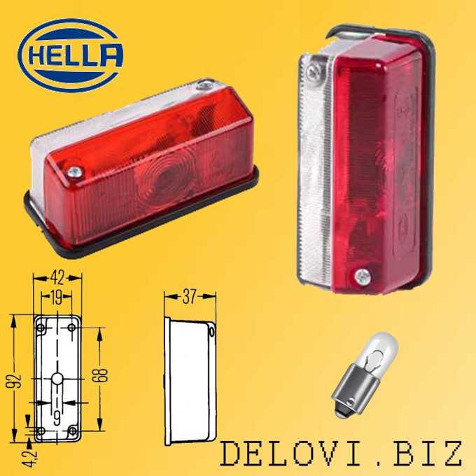 Hella 2XS 005 020-001